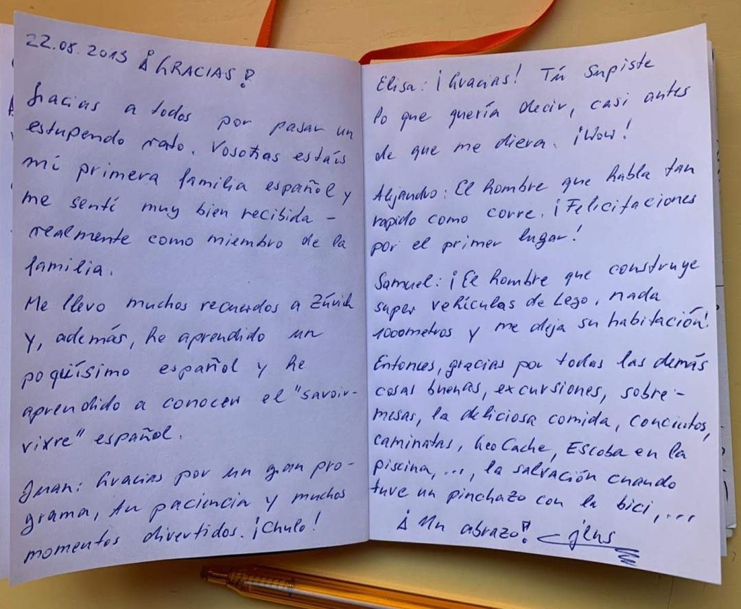 carta de Jens